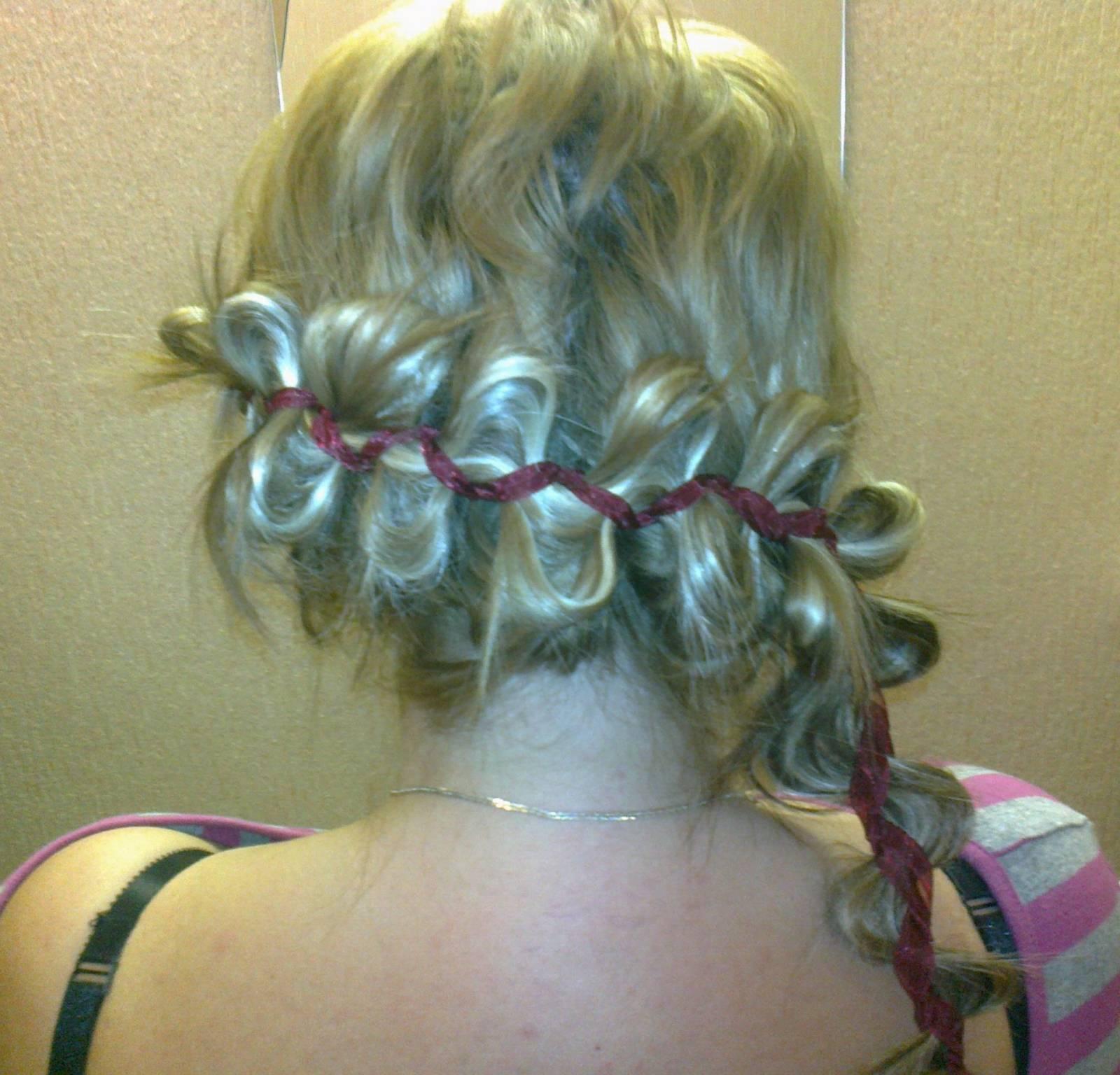 Прически с нарощенными волосами на капсулах в домашних условиях